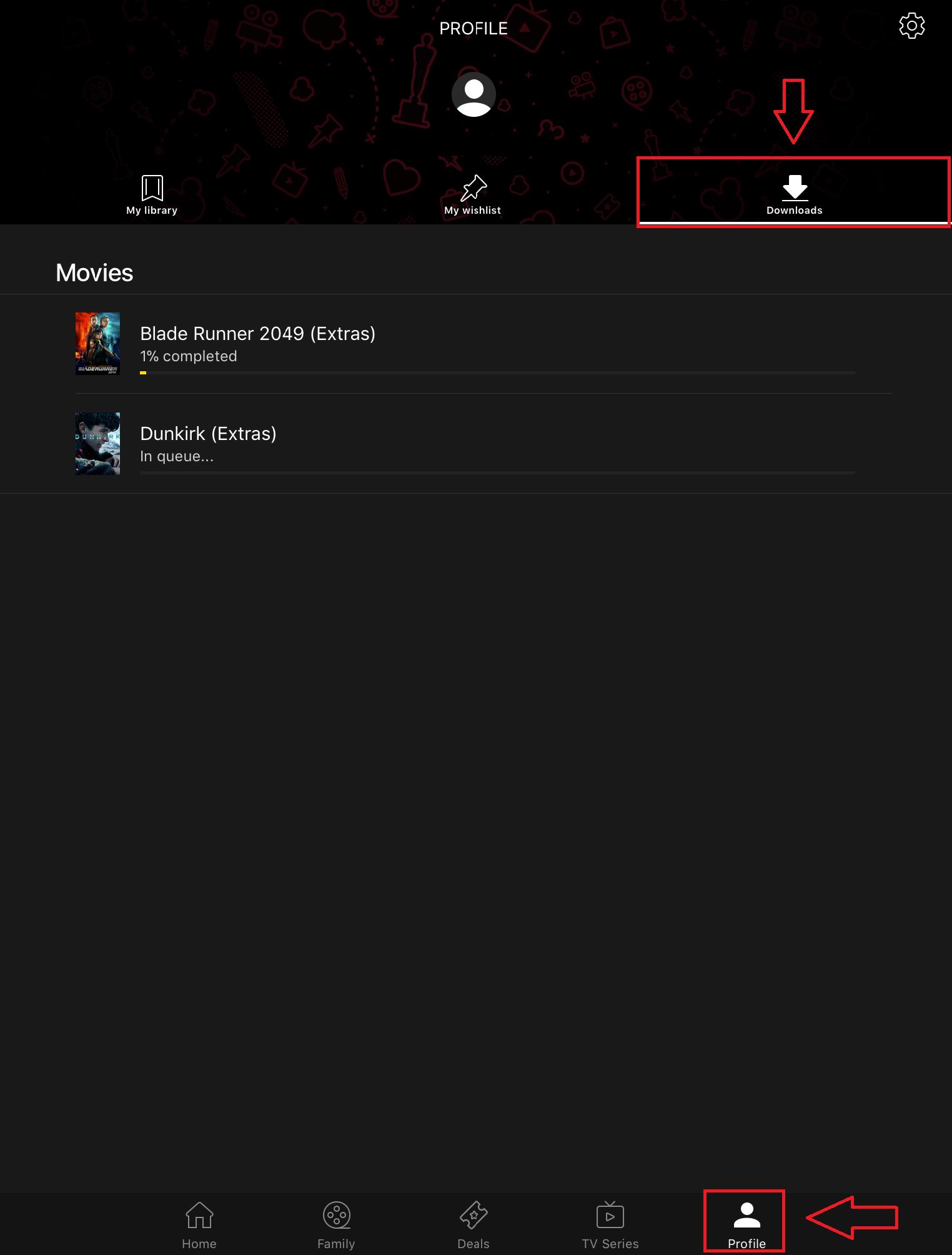 Download and watch offline – Rakuten TV Help Centre